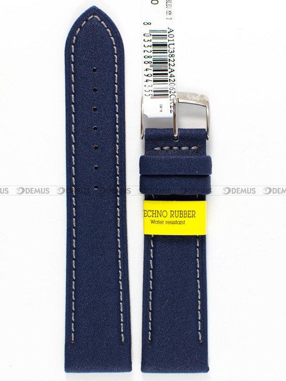 ffa48973cf51dc Pasek do zegarka gumowy - Morellato U3822A42062.22 mm \ Paski ...