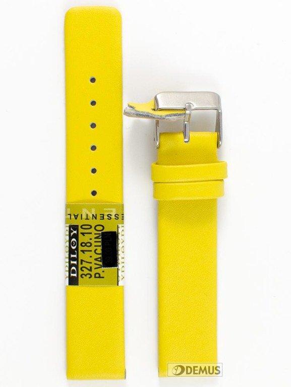 45dd7e8fdd0e29 Pasek skórzany do zegarka - Diloy 327.18.10 - 18 mm \ Paski skórzane ...